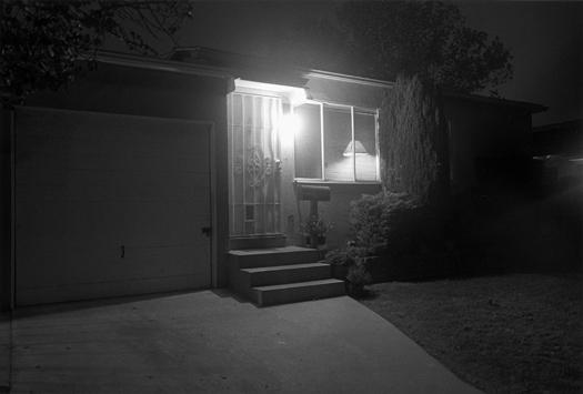 Night Walk #44, Los Angeles, CA, 1995 20 x 24 inches edition of 12 silver print
