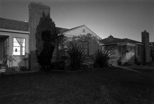 Night Walk #16, Los Angeles, CA, 1995 20 x 24 inches edition of 12 silver print