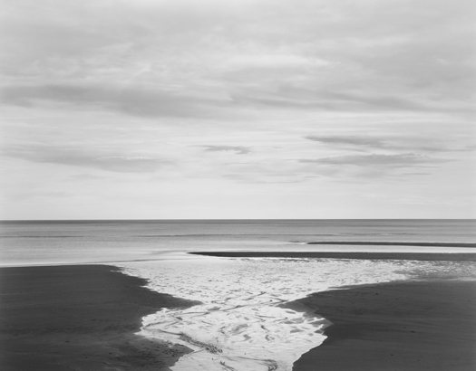 Creek, Tasman Sea, 2003 20 x 24 inches (edition of 25) 26 x 32 inches (edition of 10) 44 x 56 inches (edition of 5) silver print