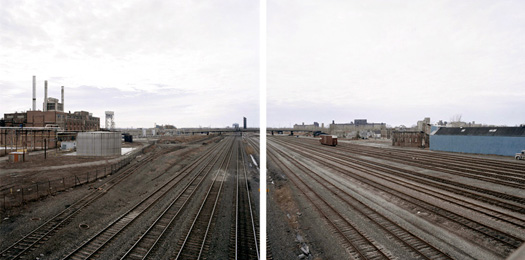 Jeff Brouws Abandoned Norfolk Southern Freight Yard, Buffalo, New York, 2007 24 x 38 inches edition of 7 archival pigment print