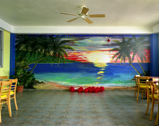 Blue Marlin, Party Room, Puerto Rico, 2006 36 x 43 inches 48 x 57 inches edition of 10 chromogenic dye coupler print