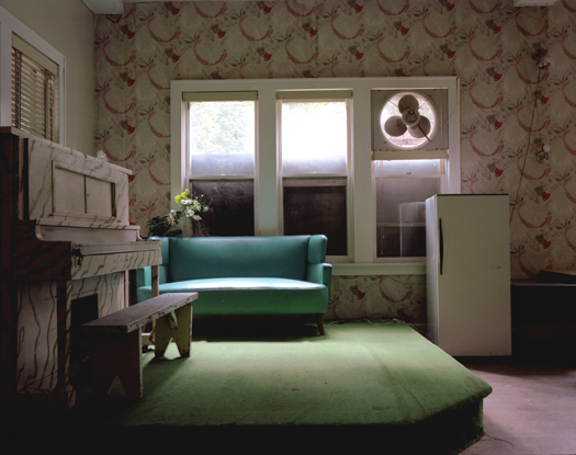 Columbia Hotel, Sharon Springs, 2005 36 x 43 inches 48 x 57 inches edition of 10 chromogenic dye coupler print