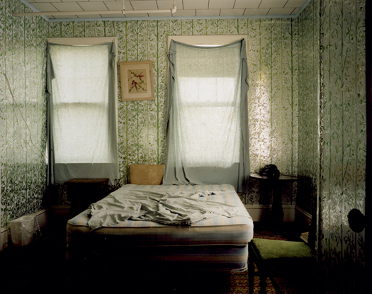 Adler Hotel, Green Room, Sharon Springs, 2005 36 x 43 inches 48 x 57 inches edition of 10 chromogenic dye coupler print