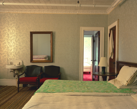 Adler Hotel, Room 44, Sharon Springs, 2005 36 x 43 inches 48 x 57 inches edition of 10 chromogenic dye coupler print
