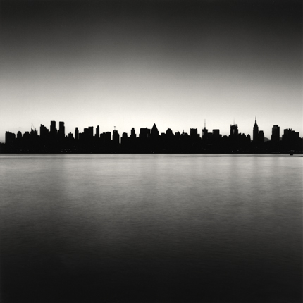 Manhattan Skyline, Study 1, New York, 2006 7.75 x 7.75 inches edition of 45 toned silver print