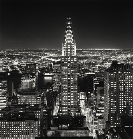 Chrysler Building, Study 2, New York, 2006 7.75 x 7.75 inches edition of 45 toned silver print