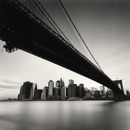 Brooklyn Bridge, Study 1, New York, 2006 7.75 x 7.75 inches edition of 45 toned silver print