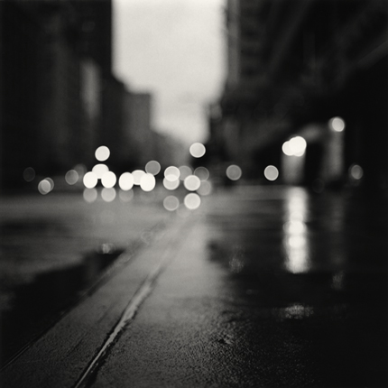 Morning Traffic, Midtown, New York, 2000 7.75 x 7.5 inches edition of 45 toned silver print
