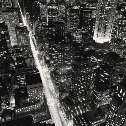Fifth Avenue, New York, 2006 7.75 x 7.5 inches edition of 45 toned silver print