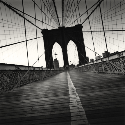 Brooklyn Bridge, Study 4, New York, 2000 8 x 7.75 inches edition of 45 toned silver print