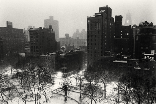 Gramercy Park Overlook, New York, 2003 6 x 9.25 inches edition of 45 toned silver print