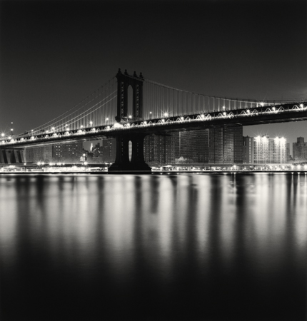 Manhattan Bridge, Study 1, New York, 2006 8 x 7.75 inches edition of 45 toned silver print