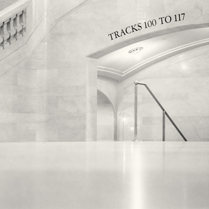 Tracks 100 to 117, Grand Central Station, New York, 2000 7.5 x 7.5 inches edition of 45 toned silver print