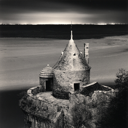 Gabriel's Tower, Study 2, Mont St. Michel, France, 2004 8 x 8 inches edition of 45 toned silver print