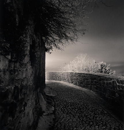 Rampart Path, Mont St. Michel, France, 2000 7.75 x 7.25 inches edition of 45 toned silver print