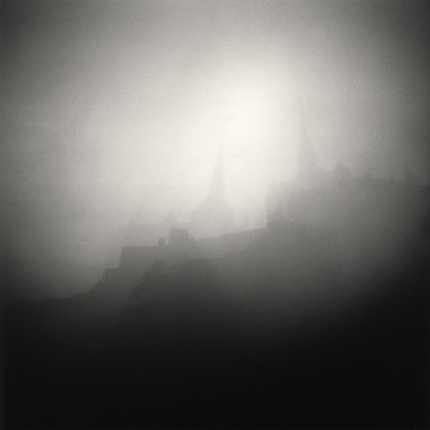 Cloud Shadows, Mont St. Michel, France, 1994 7.5 x 8 inches edition of 45 toned silver print