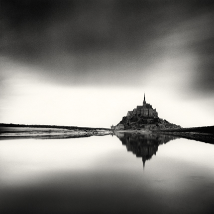 Midday Prayer, Mont St. Michel, France, 2004 7.25 x 7.5 inches edition of 45 toned silver print