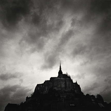 Eglise Abbatiale, Mont St. Michel, France, 1998 7.75 x 7.75 inches edition of 45 toned silver print