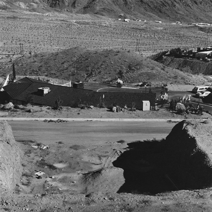 Boulder City, Colorado, 1975 (#BC1:774) 12.75 x 12.75 inches vintage silver print