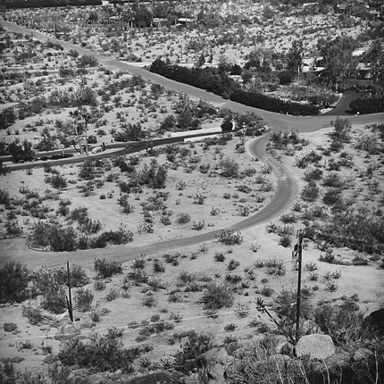 Scottsdale, Arizona, 1976 (#AR4:476) 12.75 x 12.75 inches vintage silver print