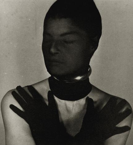 Man Ray La Prisionnière, c.1945 2.2 x 2 inches vintage silver print