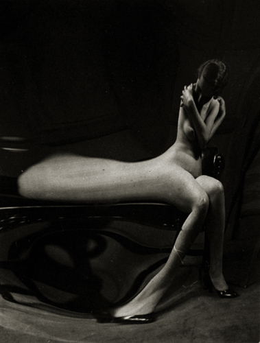 André Kertész Untitled (Nude Distortion), 1933 3 x 2.5 inches vintage silver print