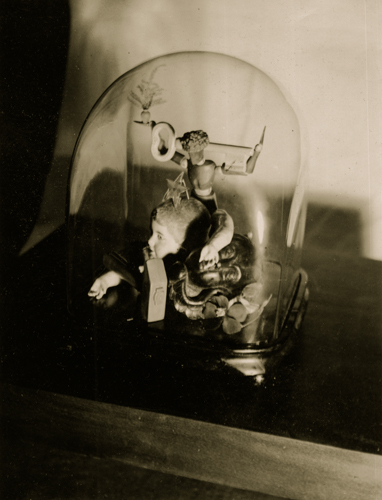 Claude Cahun Surrealist Assemblage, c.1936 4.25 x 3.25 inches vintage silver print