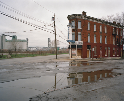 Abandoned Neighborhood Bar on Ohio Street (Since Demolished), Buffalo, New York, 2002 38 x 44.5 inches edition of 10 archival pigment print