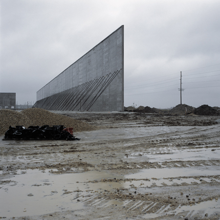 Superstore Under Construction on Former Farmland, Indiana, 2004 38 x 38 inches edition of 10 archival pigment print