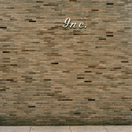 Shuttered Manufacturing Plant #7, Cleveland, Ohio, 2001 38 x 38 inches edition of 10 archival pigment print