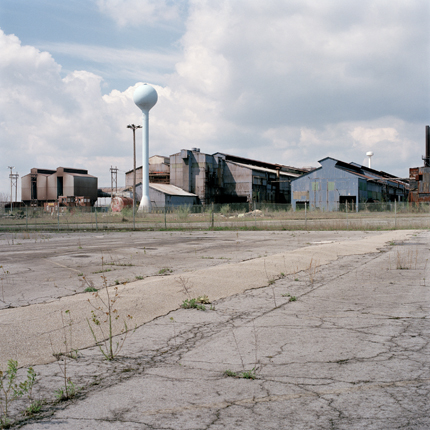 Shuttered Manufacturing Plant #15, Warren, Ohio, 2006 38 x 38 inches edition of 10 archival pigment print
