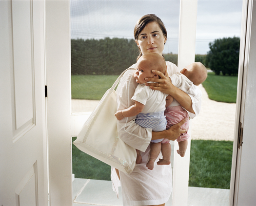 Untitled (twins), 2005 40 x 49 inches edition of 5 archival pigment print