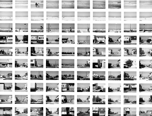 SV014-80 Manhattan Beach, Looking West From Vista, 1980 from the series  Sequential Views  20 x 24 inches vintage silver print