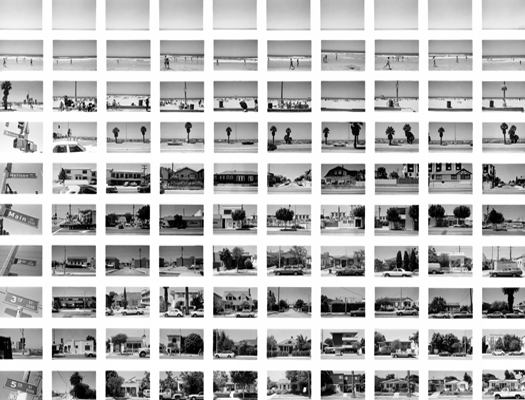 SV003-80 Along Ocean Park Blvd, Looking West, 1980 from the series  Sequential Views  20 x 24 inches vintage silver print