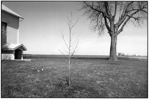 MD337-14, 1974 from the series  Midwest Diary  11 x 14 inches vintage silver print