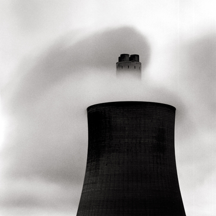 Ratcliffe Power Station, Study #54, Nottinghamshire, England, 2000 7.75 x 7.75 inches edition of 45 toned silver print