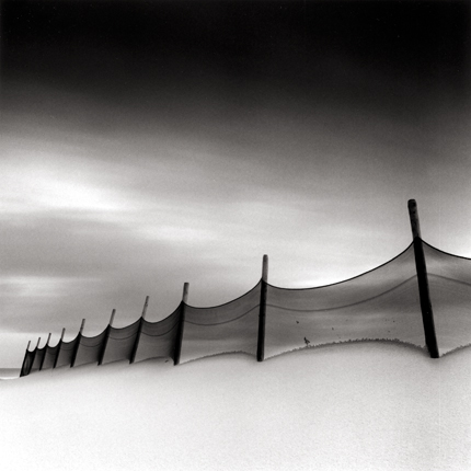 Windswept Beach, Calais, France, 1999 7.5 x 7.5 inches edition of 45 toned silver print
