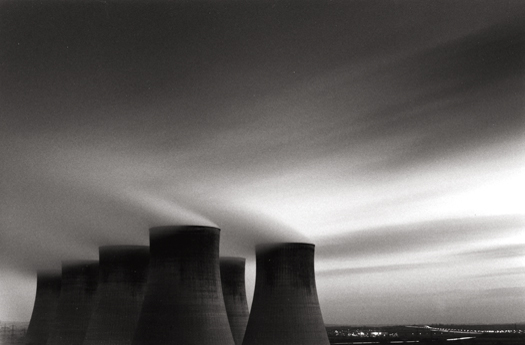 Ratcliffe Power Station, Study #59, Nottinghamshire, England, 2003 6 x 9 inches edition of 45 toned silver print