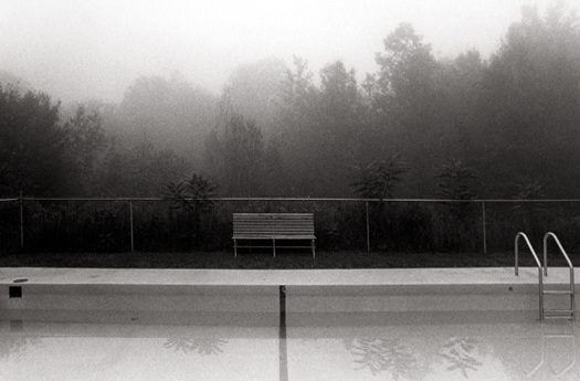 Bench, Catskill Mountains, New York, 1979 6 x 9 inches edition of 45 toned silver print