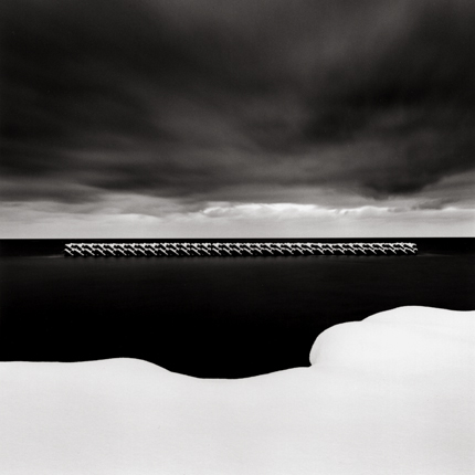 Winter Seascape, Wakkanai, Hokkaido, Japan, 2004 7.5 x 8 inches edition of 45 toned silver print