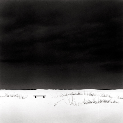 Kato's Bench, Ishikari, Hokkaido, Japan, 2004 7.5 x 7.75 inches edition of 45 toned silver print