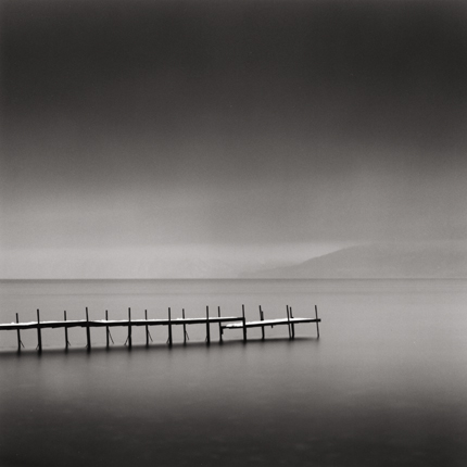 Foggy Morning, Shikotsu Lake, Hokkaido, Japan, 2004 7.5 x 8 inches edition of 45 toned silver print