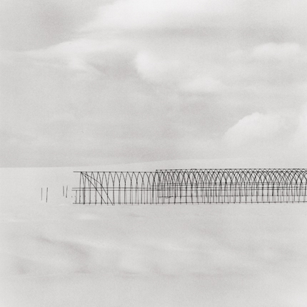 Greenhouse Structure, Study #2, Bei, Hokkaido, Japan, 2004 8 x 7.75 inches edition of 45 toned silver print