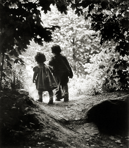 Walk to Paradise Garden, Juanita, 1946 from  Family & Friends, Life Magazine  23 x 19 inches silver print