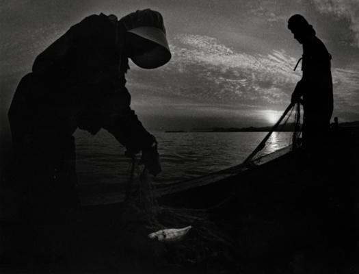Fisherwomen (Kama II), Minamata, 1972 10 x 13.5 inches vintage silver print