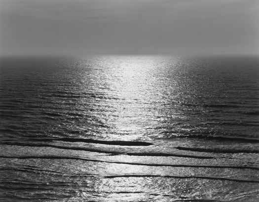 Tide, Pescadero, 2001 20 x 24 inches (edition of 25) 26 x 32 inches (edition of 10) 44 x 56 inches (edition of 5) silver print