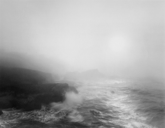 Breaking Surf, Carmel Highlands, 2003 20 x 24 inches (edition of 25) 26 x 32 inches (edition of 10) 44 x 56 inches (edition of 5) silver print