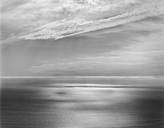 Afternoon, Big Sur, 2003 20 x 24 inches (edition of 25) 26 x 32 inches (edition of 10) 44 x 56 inches (edition of 5) silver print