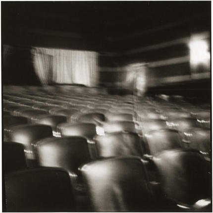 Theater, Vanceburg, Kentucky, 1975 10 x 8 inches vintage silver print