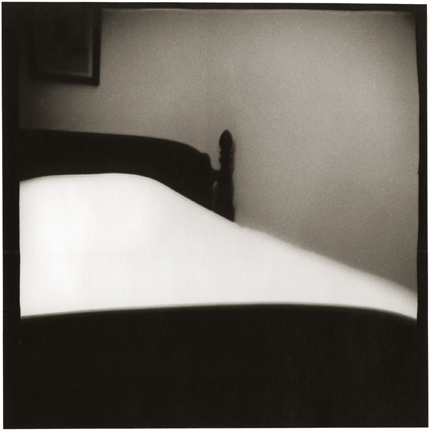 A Woman's Bed, Logan, Ohio, 1970 10 x 8 inches vintage silver print